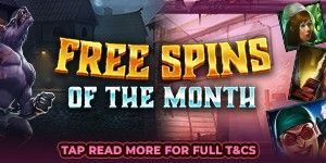 Free Spins Of The Month